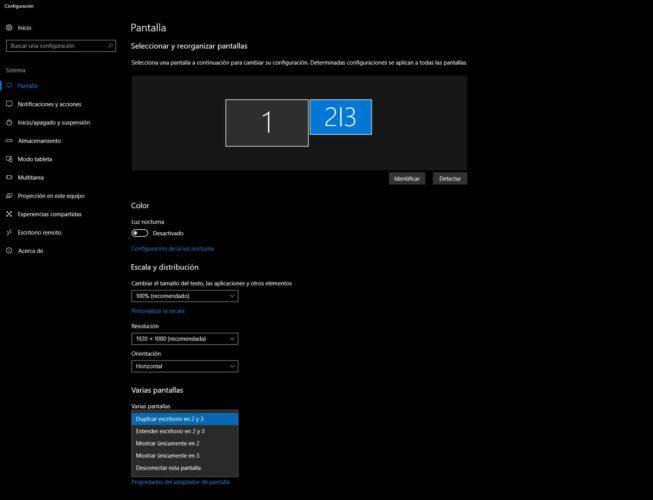 duplicar escritorio monitor