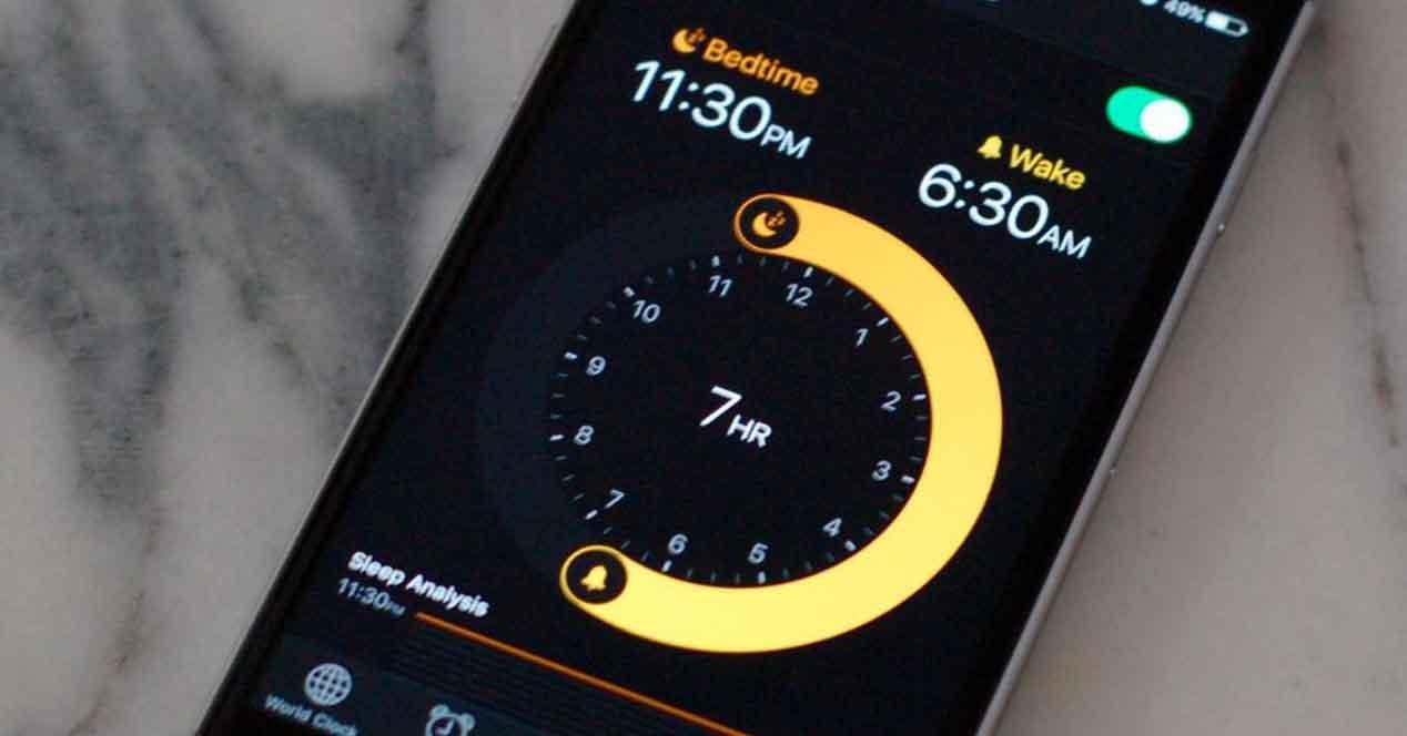 iphone alarma