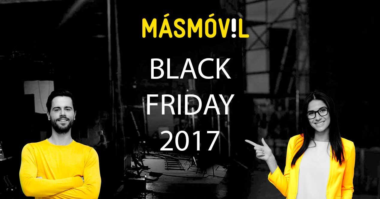 MásMóvil Black Friday 2017