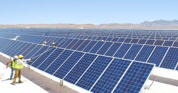 panel solar limpieza