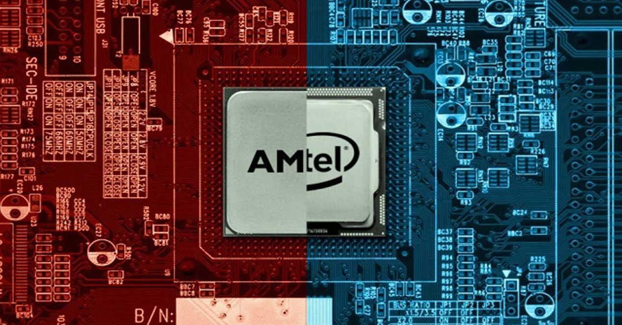 procesador intel con gráfica AMD