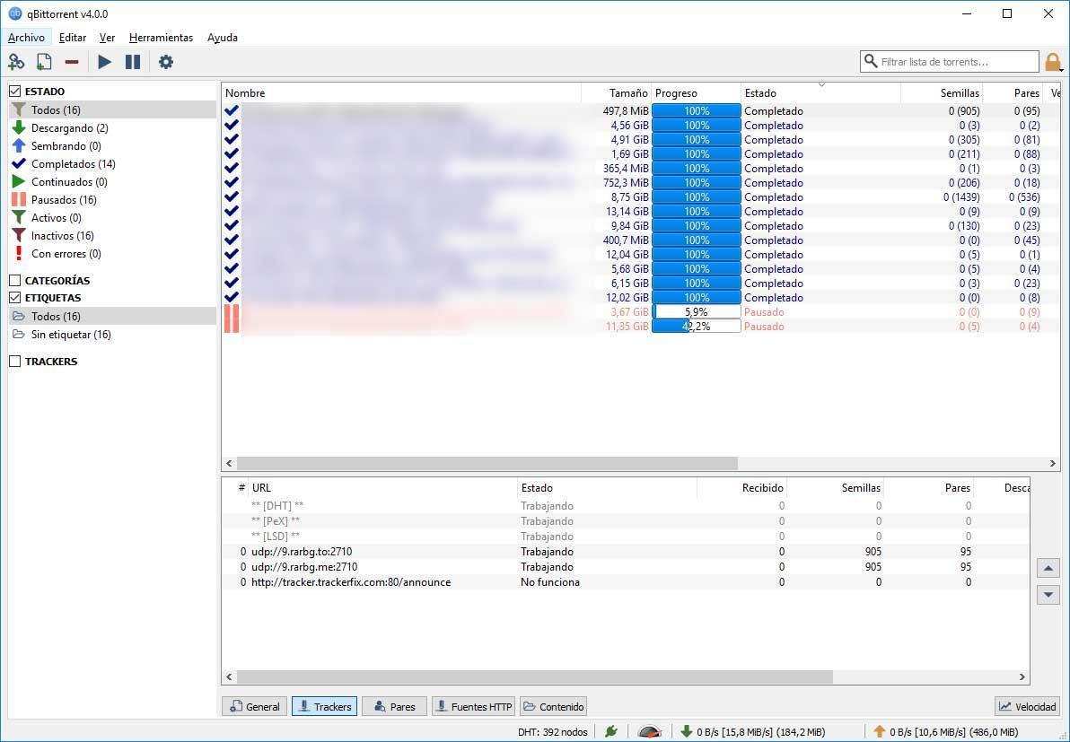 qBittorrent 4 0 ya disponible: nuevo diseño y funciones