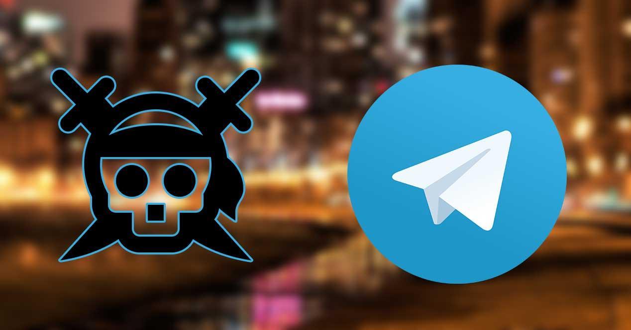 telegram piratería
