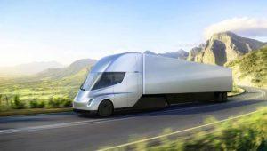 Tesla Semi: el camión eléctrico con 800 km de autonomía y 0-100 en 5 segs