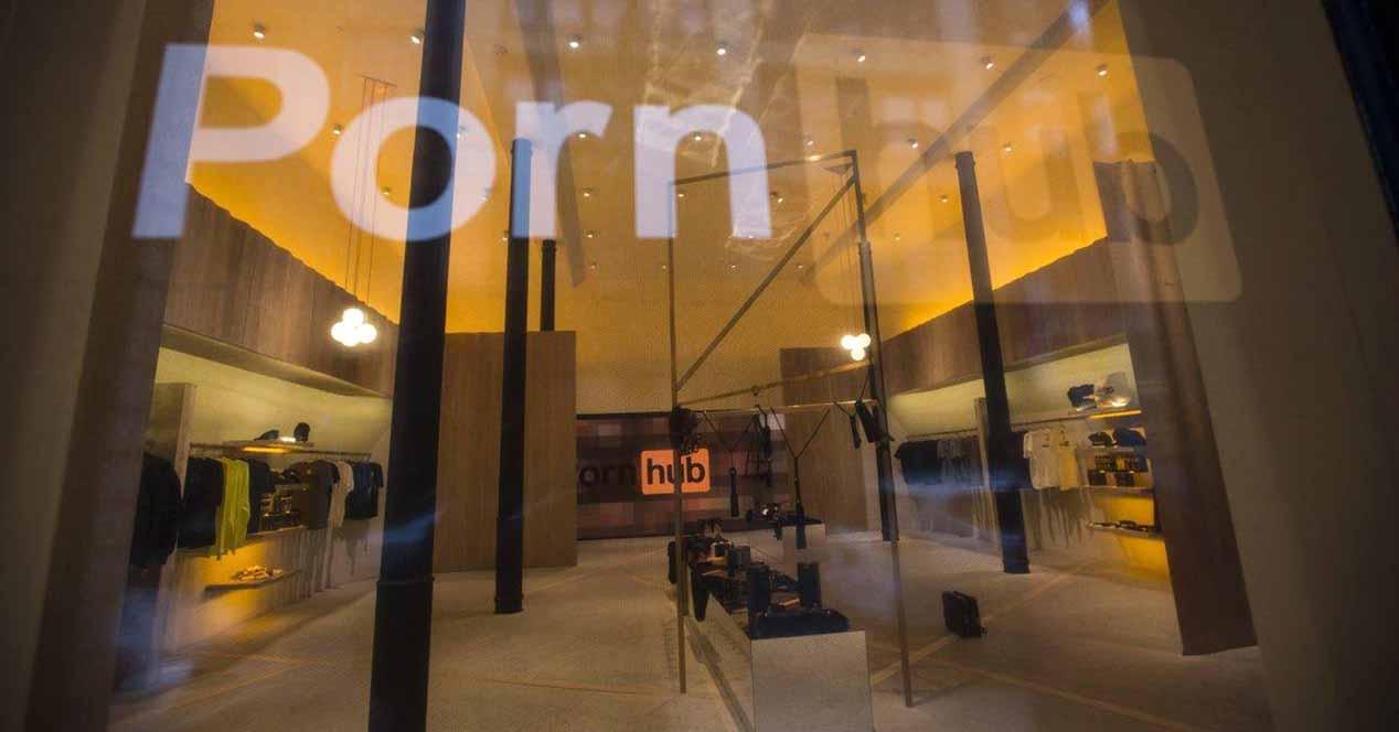 tienda pornhub