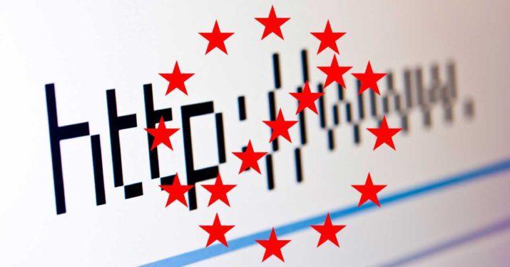 union europea bloqueo webs