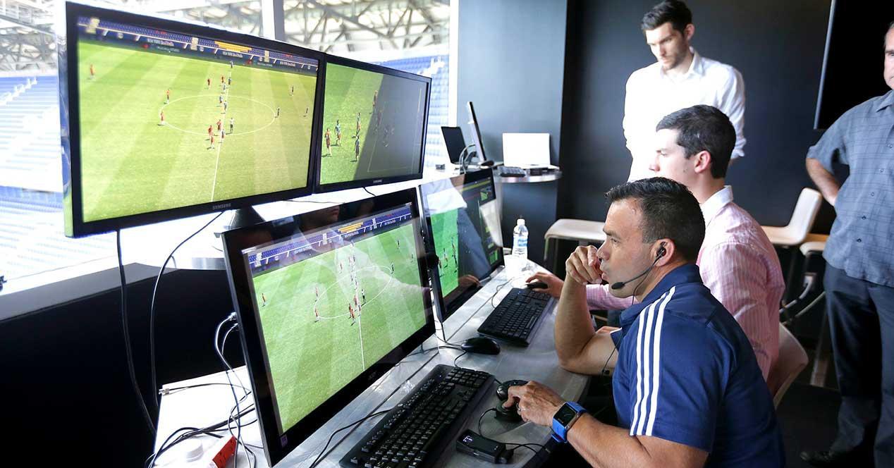 var videoarbitraje liga española