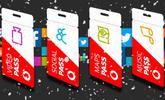 Vodafone Pass será gratis esta Navidad, a elegir entre Video, Social, Music o Maps