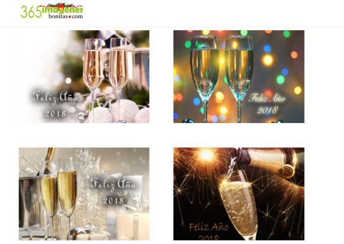 felicitar el año nuevo