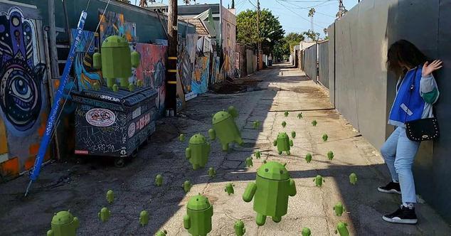 Google ARcore Tango