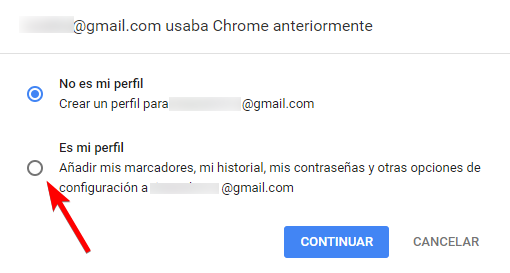 robo datos chrome