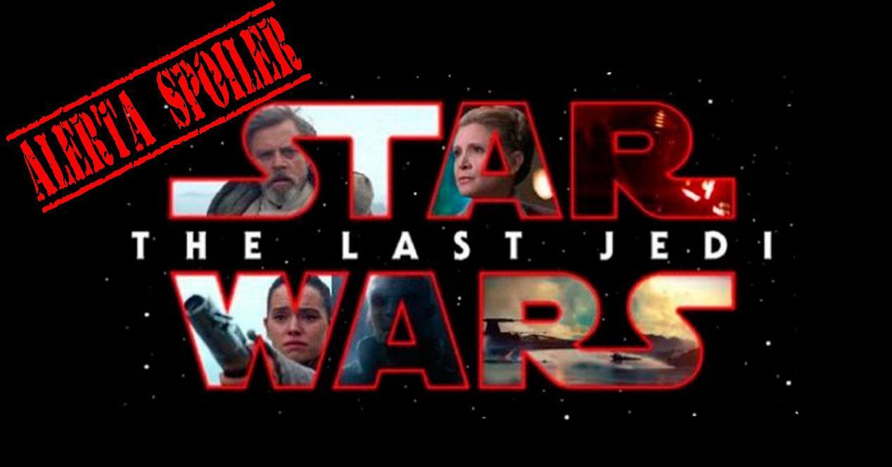 spoiler Star Wars:Los Últimos Jedi