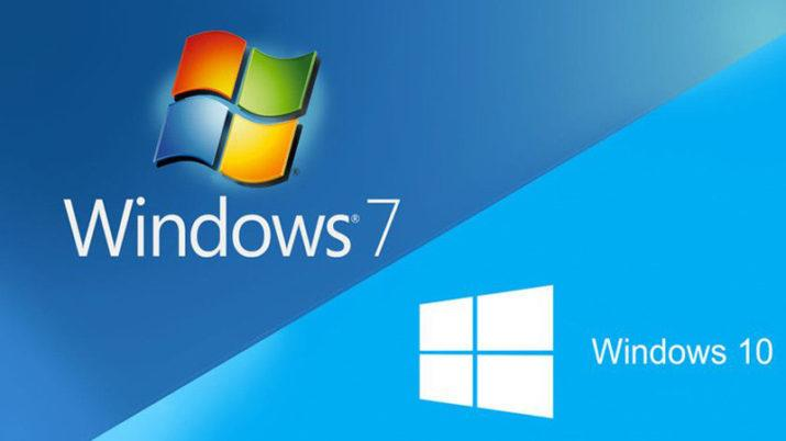 Windows 10 Windows 7