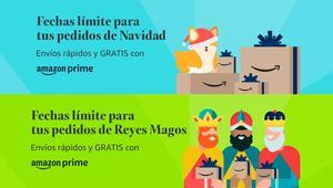 ¿Cuándo te llegarán los regalos de Navidad y Reyes Magos si compras en Amazon?