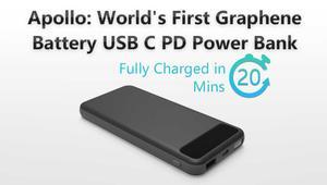 Apollo es la primera batería externa basada en grafeno que puedes comprar