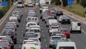Cómo conocer el estado del tráfico y posibles atascos en el Puente de Diciembre