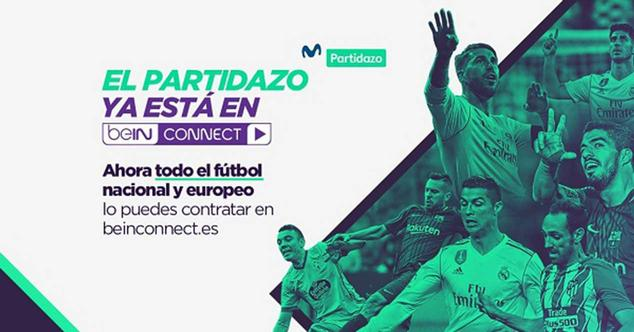 bein connect movistar partidazo