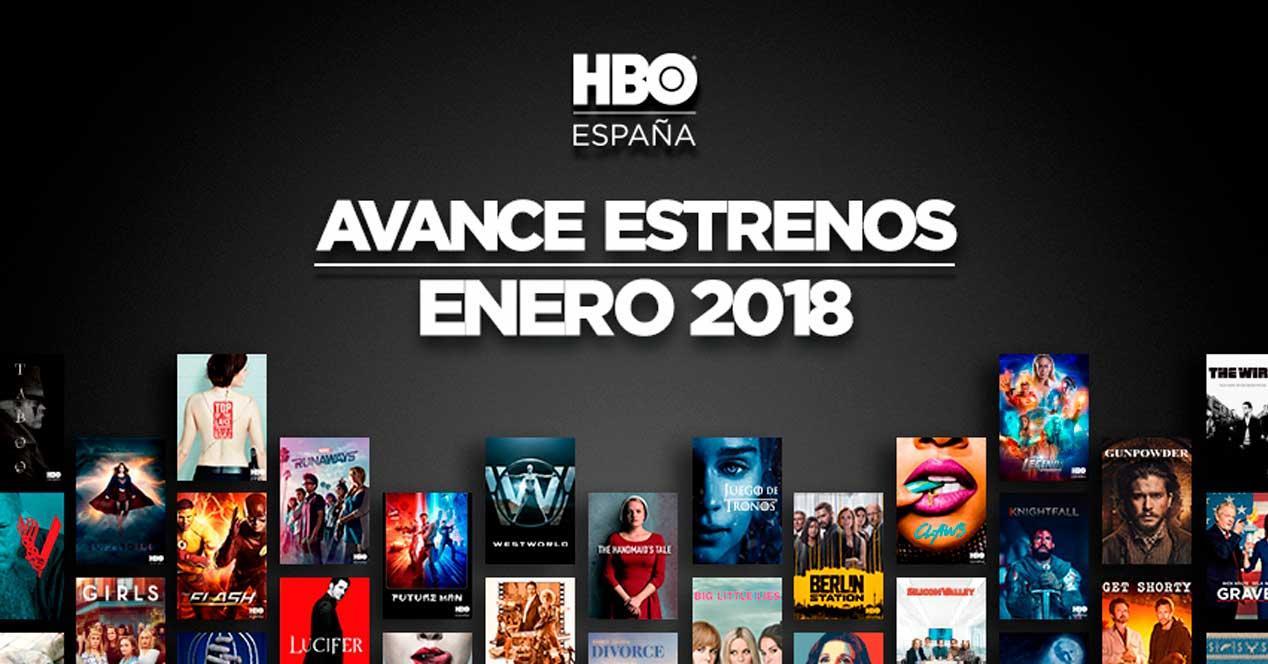 estrenos hbo 2018 enero