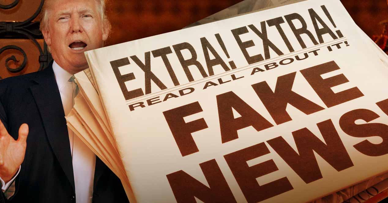 fake news donald trump