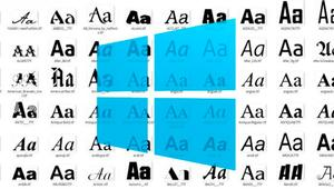 Cómo añadir nuevos tipos de letras en Windows