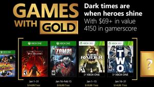 Juegos gratis para Xbox One y Xbox 360 en enero 2018 con Games with Gold