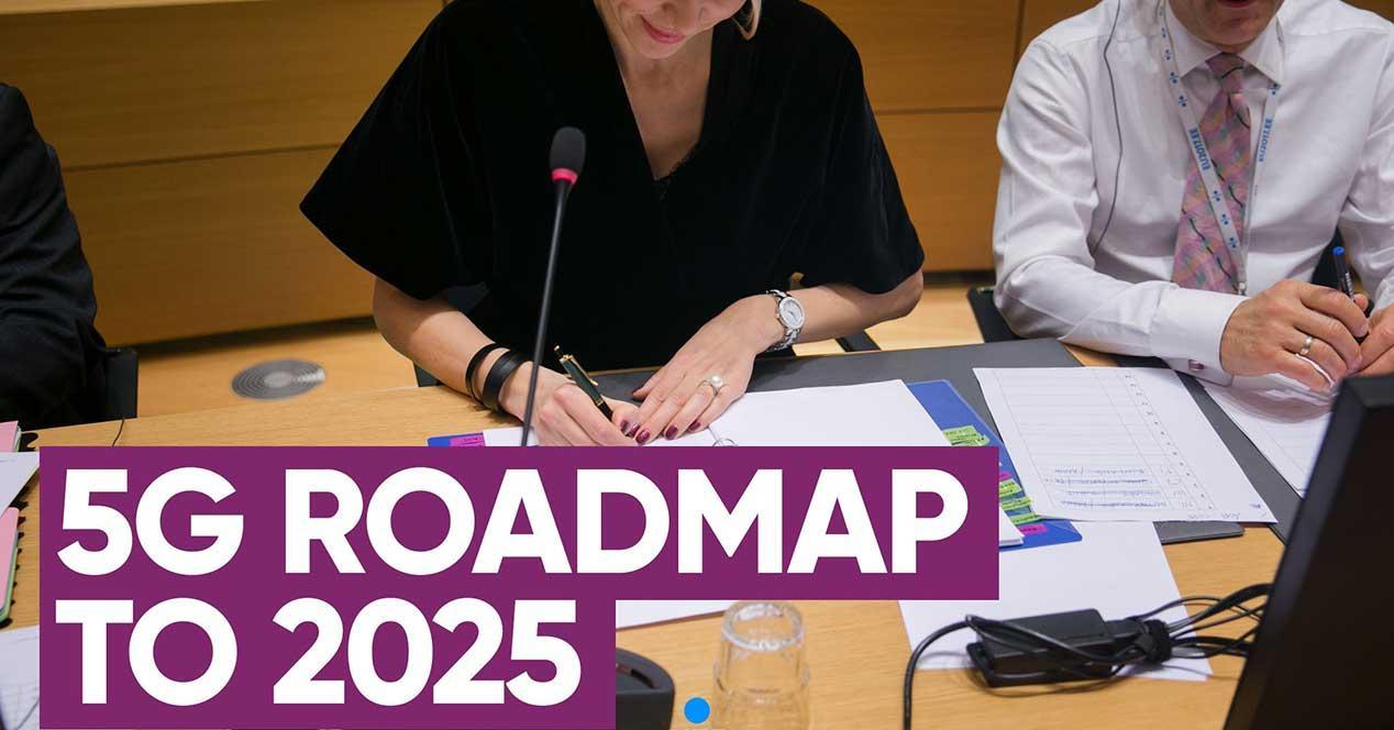 hoja de ruta 5G 2025 unión europea