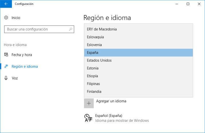 idioma de Microsoft Office