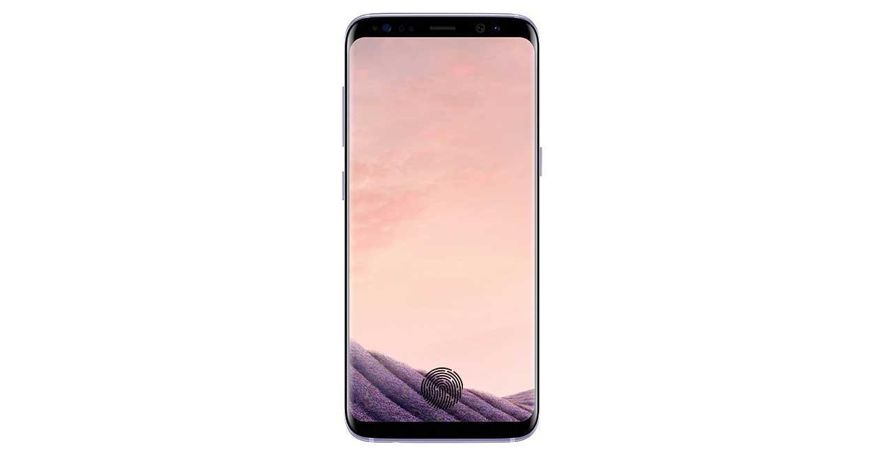 lector de huellas bajo pantalla s8