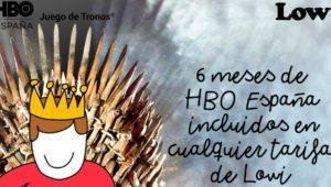 Lowi regala 6 meses de HBO España: así puedes conseguirlo