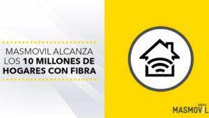 MásMóvil, Pepephone y Yoigo llegan a 10 millones de hogares con fibra y a todas las provincias