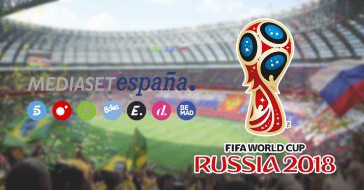 mediaset mundial rusia 2018 derechos