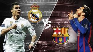 Cómo ver el partido de hoy, Real Madrid contra F.C. Barcelona, en directo