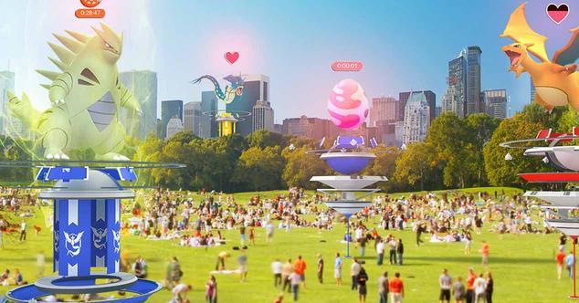 Ver noticia 'Pokémon Go añade 50 Pokémon de 3ª generación y climatología en tiempo real'