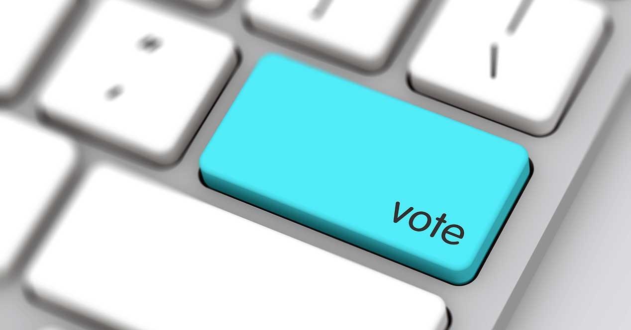 voto online blockchain polys