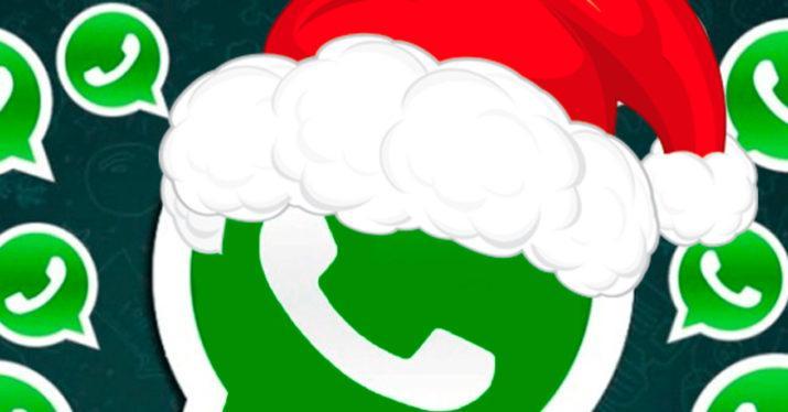 C mo felicitar la navidad a todos tus contactos con un - Felicitar la navidad por whatsapp ...
