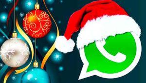 Cómo personalizar los chats de WhatsApp con fondos de Navidad