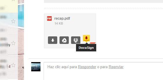 firmar documentos en Gmail