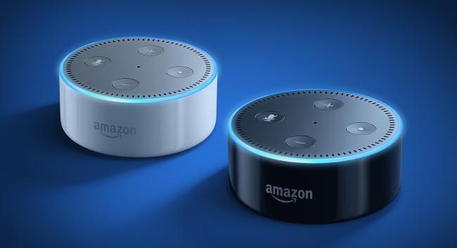 Asistentes Google Amazon