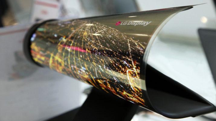 LG pantalla enrollable
