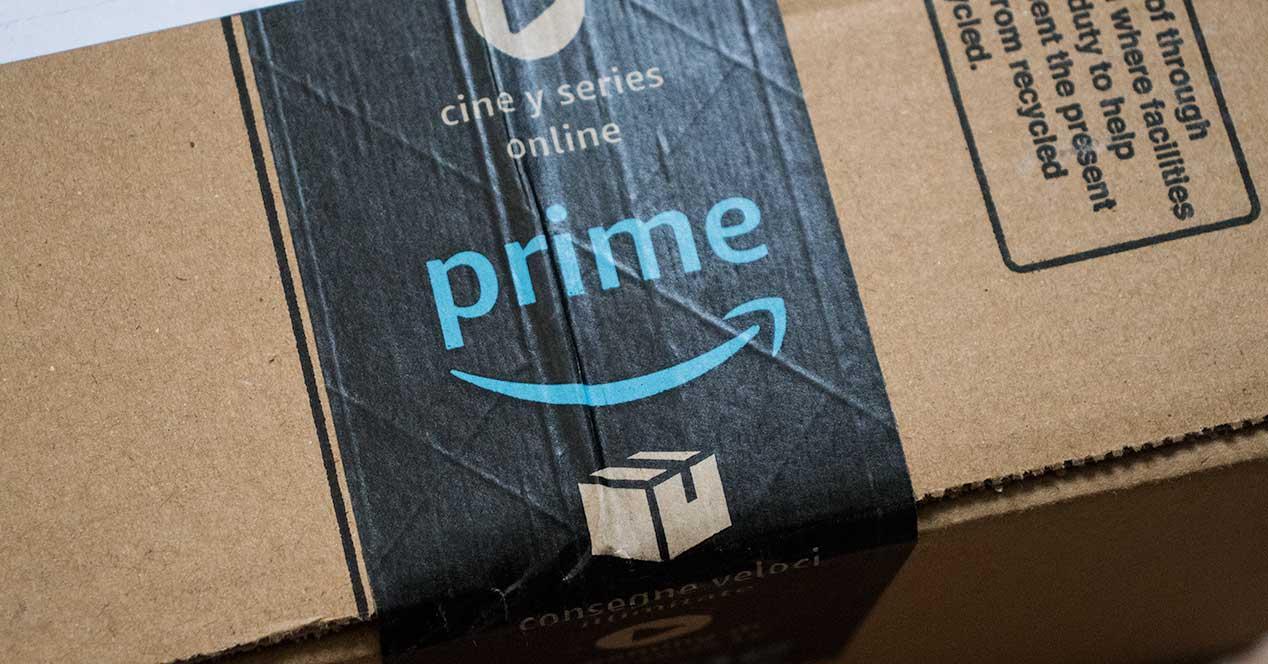 amazon prime caja