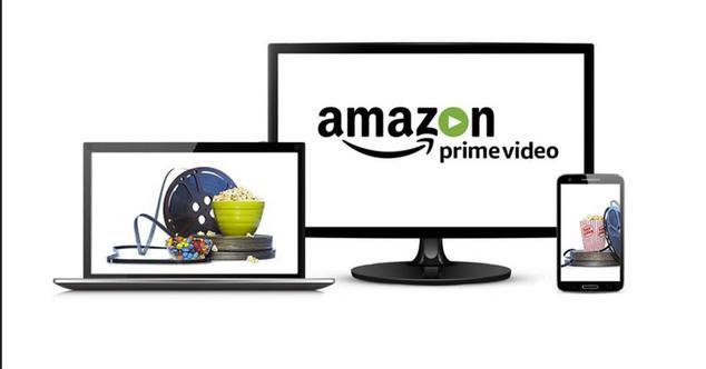 ordenador, pantalla y teléfono para ver amazon prime video
