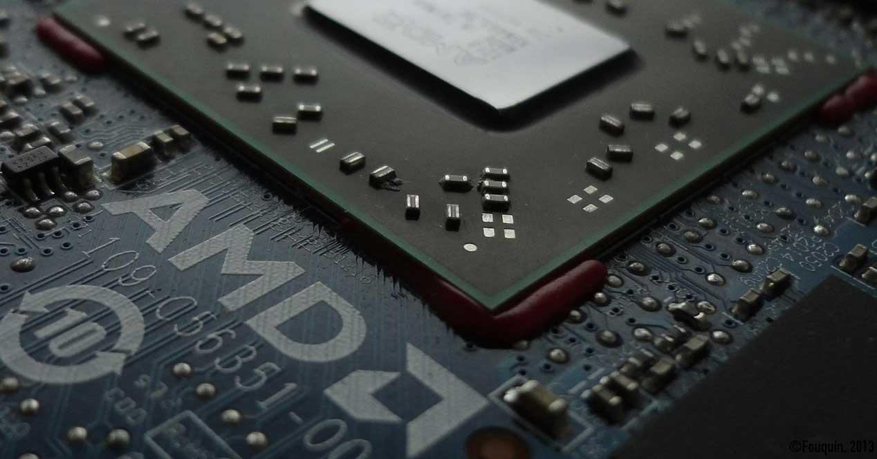 amd chip procesador grafica