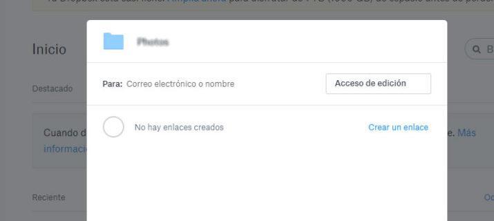 dos cuentas de Dropbox