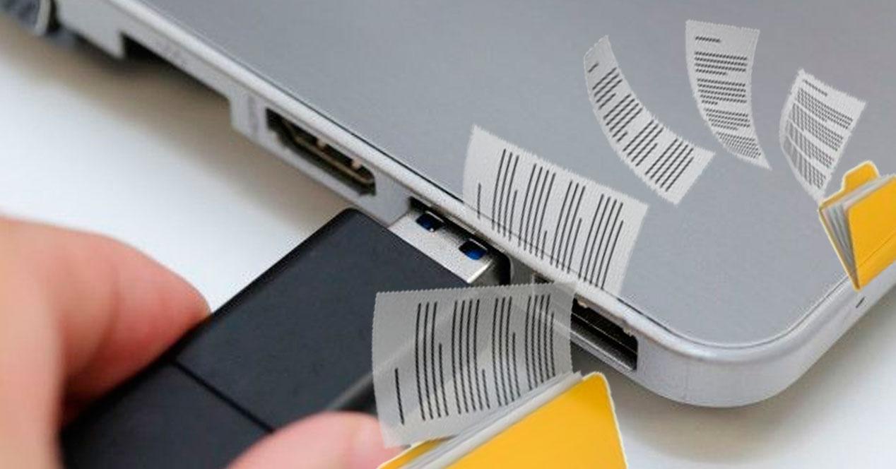copiar archivos pendrive