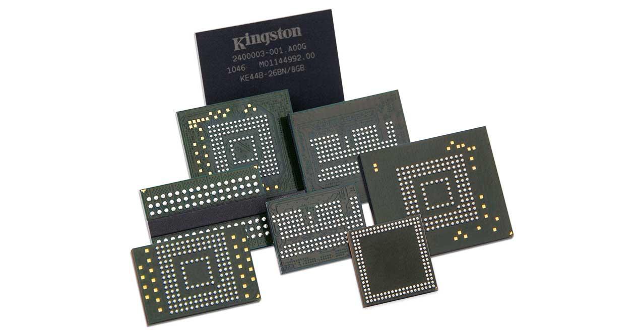 eMMC vs SSD: principales diferencias entre este tipo de memorias