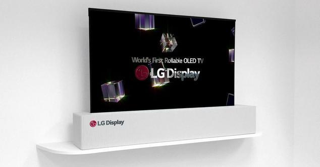 Ver noticia 'LG ha fabricado y mostrará en CES 2018, un televisor OLED 4K de 65 pulgadas enrollable'