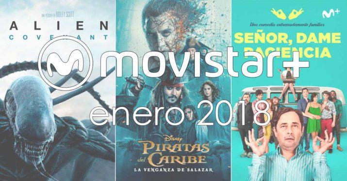Estrenos Movistar+ enero 2018