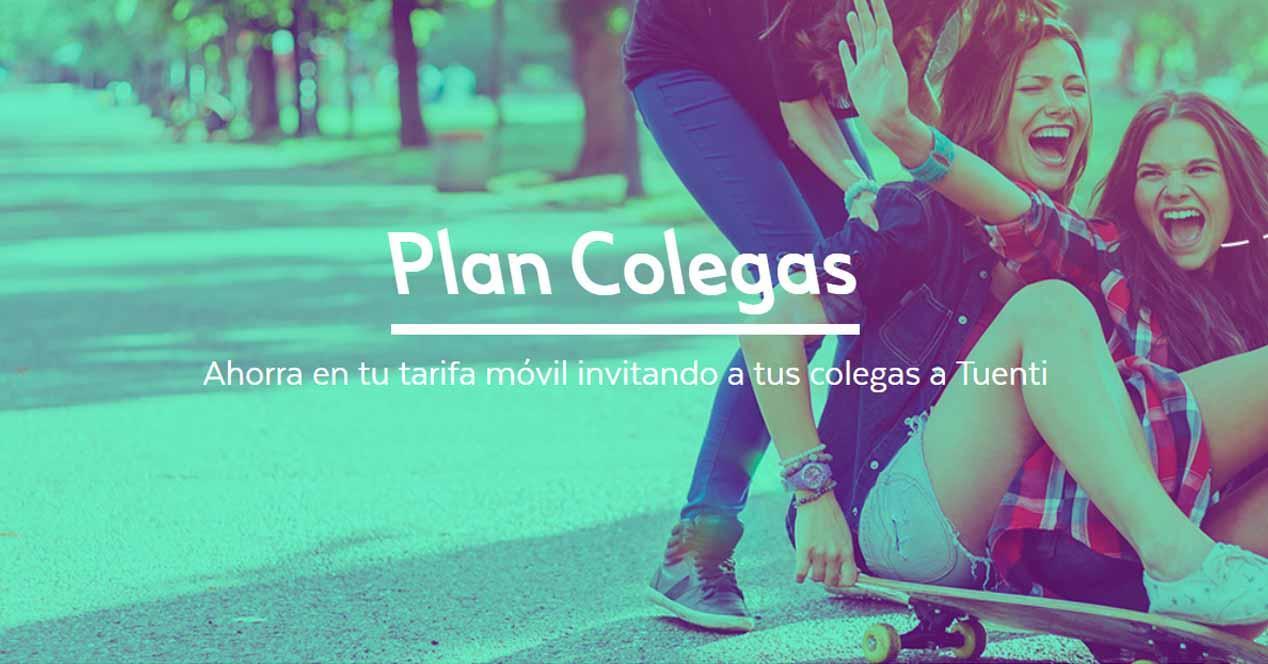Ver noticia 'Noticia 'Tuenti lanza 'Plan Colegas': te llevas 10 euros por cada amigo''