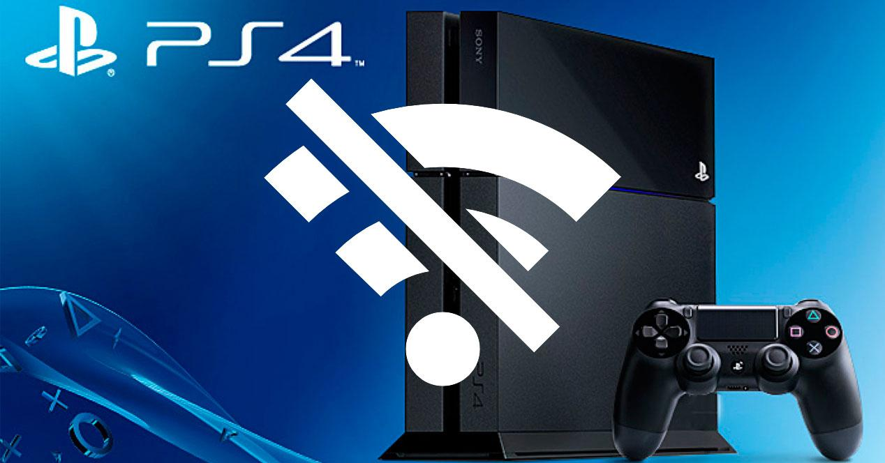 problemas wifi ps4
