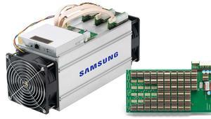Samsung estaría fabricando chips para minar criptomonedas